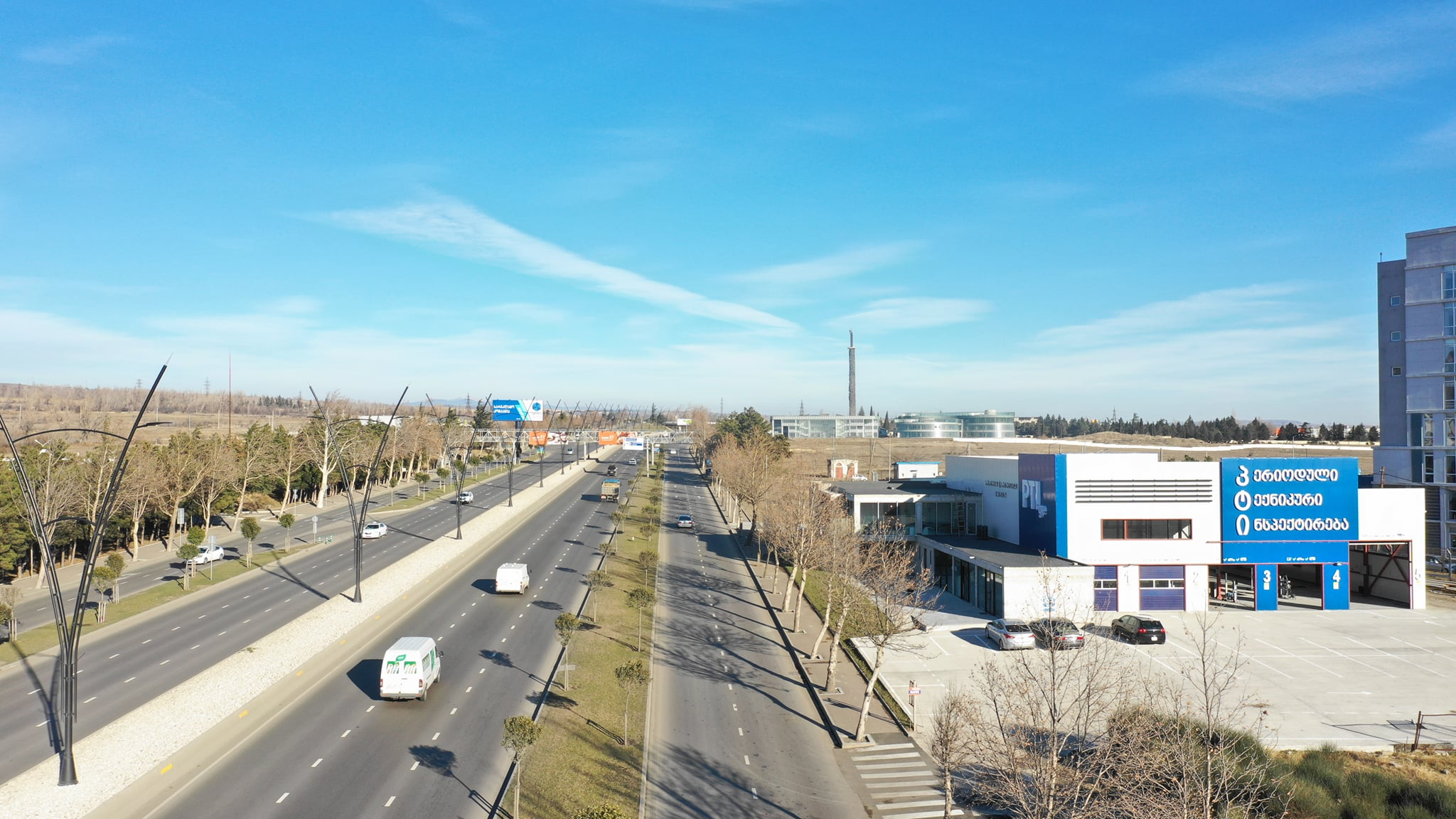 თბილისში ავტოტესტის პარტნიორი ტექინსპექტირების ახალი ცენტრი გაიხსნა